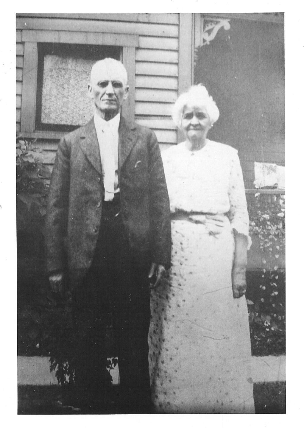David and Jennie Osborne, 1917