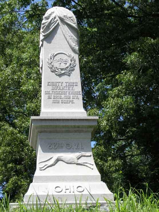 83rd OVI Vicksburg Monument