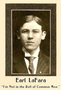 Earl LaFara, 1908