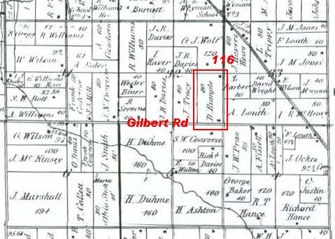 Jennings Twp Sec 32 1872