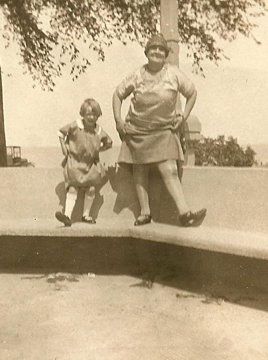 Grace Osborne, 1928