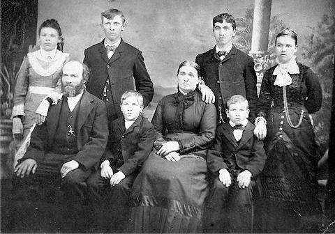 Illges family 1882