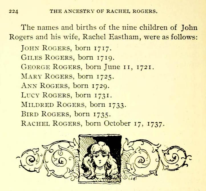 Rogers/Eastham children