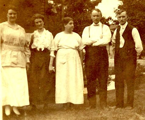 Osborne Siblings 1917