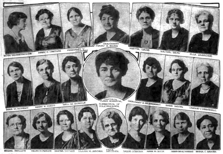 1921 IMPD Police Women