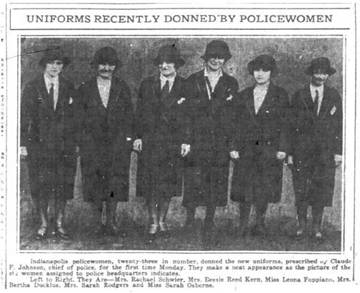 IMPD Police Women 1926