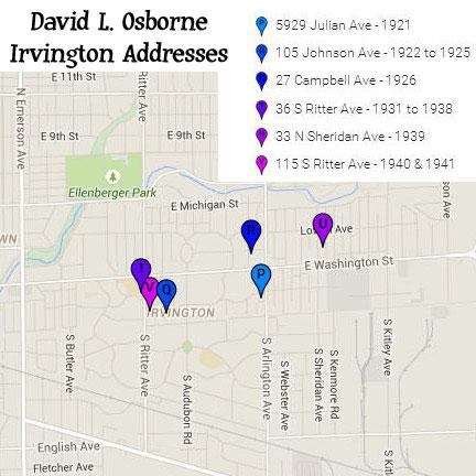 Irvington homes of David Osborne