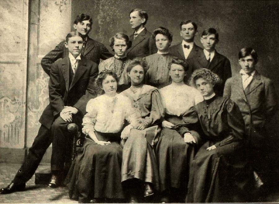 1907 Tiptonian Year Book Staff
