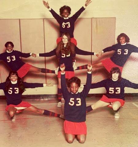 1974 IPS #53 Cheer Team