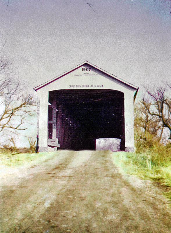 Parke Co, Mill Creek Bridge