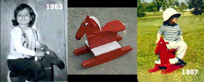 Rocking Horse Collage