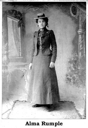 Alma Rumple Brunstetter 1900