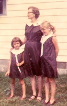 LaFara Brown Dresses 1965
