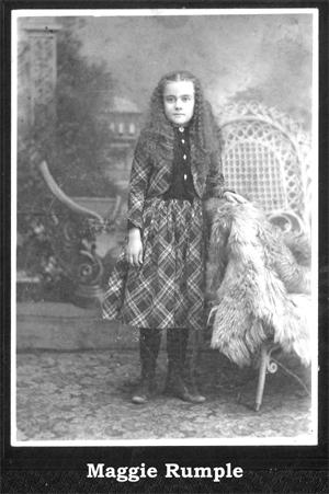 Maggie Rumple Morrow 1900