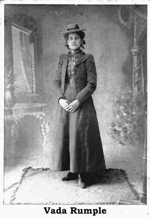 Vada Rumple Brunstetter 1900