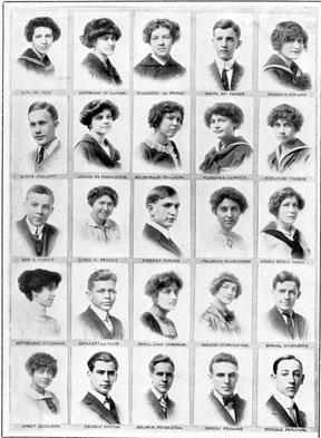 1913 Shortridge HS page109