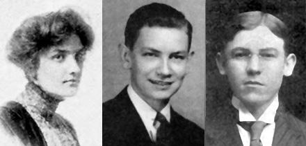 3 LaFara Yearbook portraits