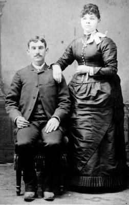 John & Minnie 1887