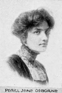 Pearl J Osborne 1913