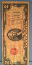2 Dollar bill
